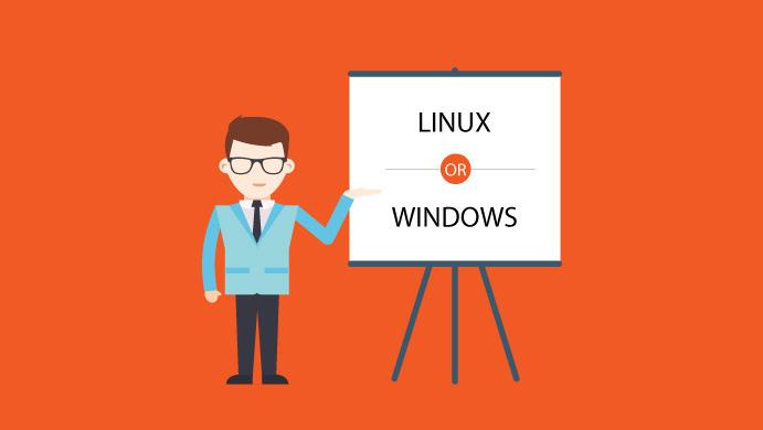 Windows ή Linux server
