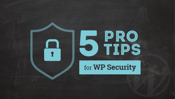 5 συμβουλές για ασφάλεια στο wordpress