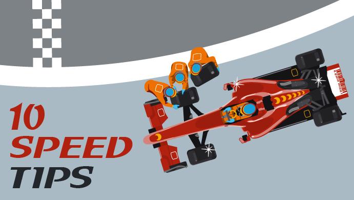 10 tips για να αυξήσεις την ταχύτητα του site σου