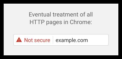H Google χαρακτηρίζει μη ασφαλή τα sites που δεν διαθέτουν SSL