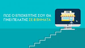 eShop: Μάθε πώς ο επισκέπτης θα γίνει πελάτης σε 8 βήματα!